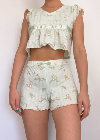 90's Floral Angel Set