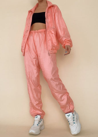 Nora Satin Jogger Set