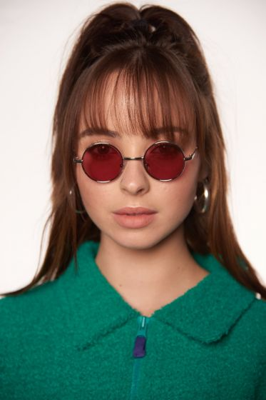 Pink Lennon Goggles