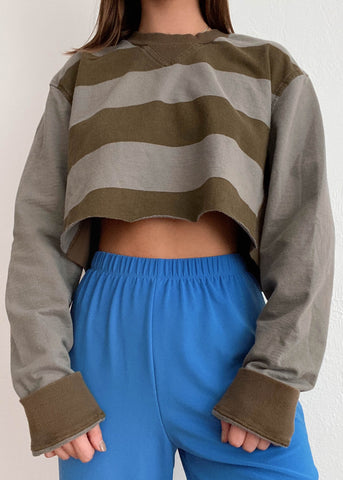 90's Striped Long Sleeve
