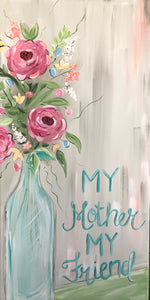 "Sweetspot ""Mother's Day Bouquet"" Paint Party Tuesday, April 30, 5:30-8:30"