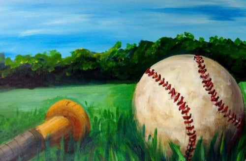 Classic Trendz is hosting 'Play Ball' Paint Party June 9th, 11-2pm