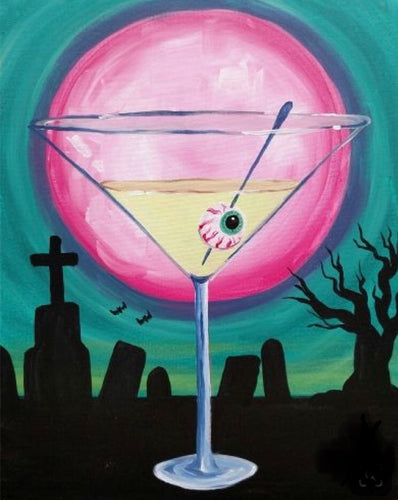 Redding Home Studio presents 'CREEPY COCKTAIL' Friday, October 18th 6-8:30pm