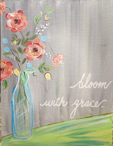 'Bloom With Grace'