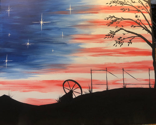 Ellie's Espresso in Weed presents 'Land of the Free' Friday, June 28th, 6-9pm