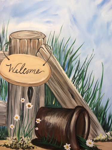 Classic Trendz is hosting 'WELCOME' Paint Party Sunday, Aug. 18th 11-2pm