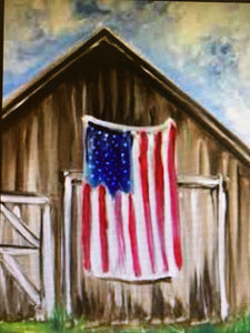 "Classic Trendz is hosting ""Land of the Free Because of the Brave"" Paint Party May 19th, 11-2pm"