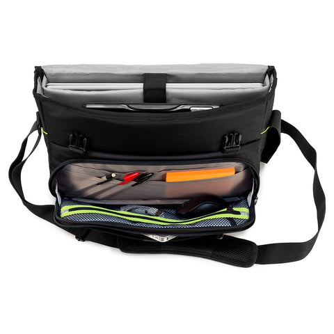 "Vista alternativa para el CityGear 15-17.3"" Laptop Messenger - Negro"