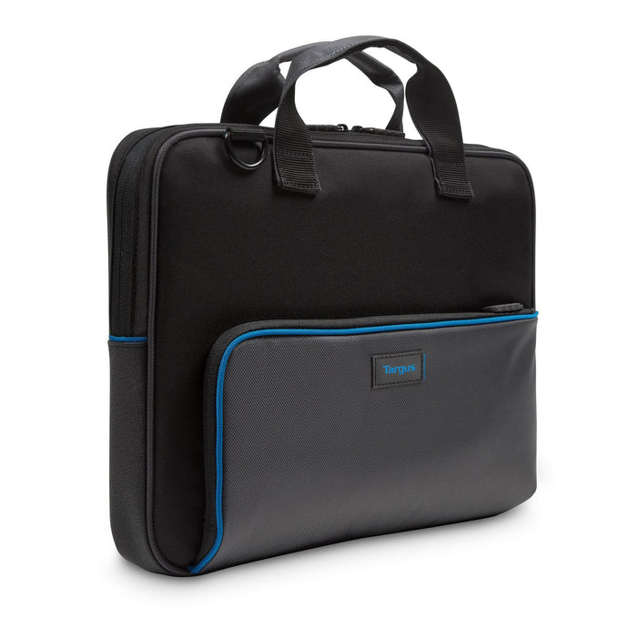 "Featured Image for Education Dome Protection 13.3"" Topload Laptop-Tasche - Schwarz/Grau"