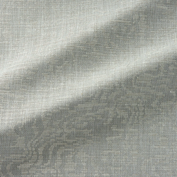 Fabric swatch of an abstract weave design in neutral colours, suitable for curtains and upholstery