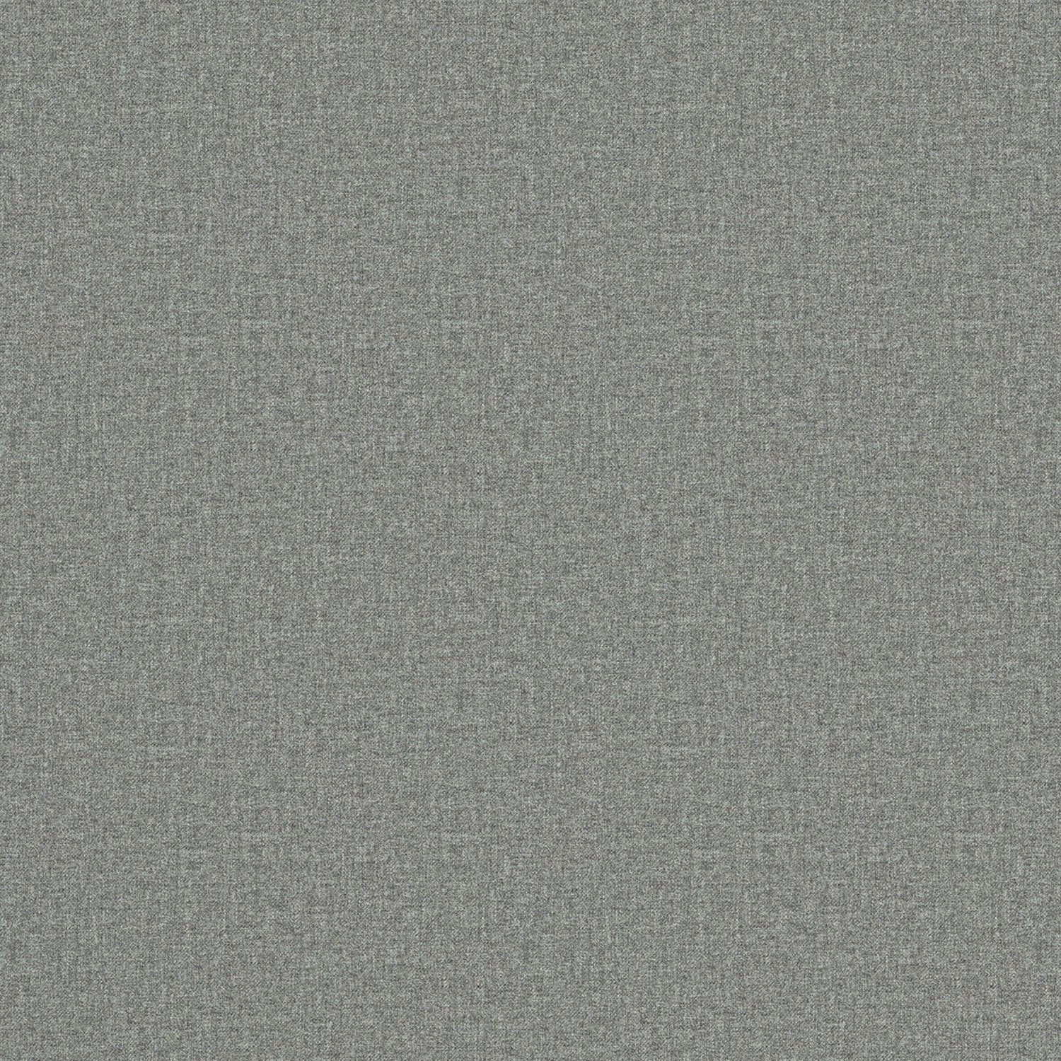 Fabric swatch of a luxury Scottish plain grey wool fabric suitable for curtains and upholstery