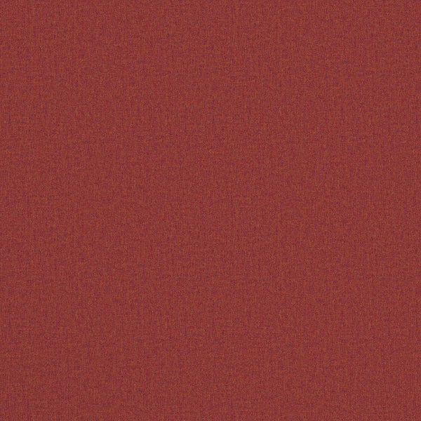 Fabric swatch of a luxury Scottish plain red wool fabric suitable for curtains and upholstery