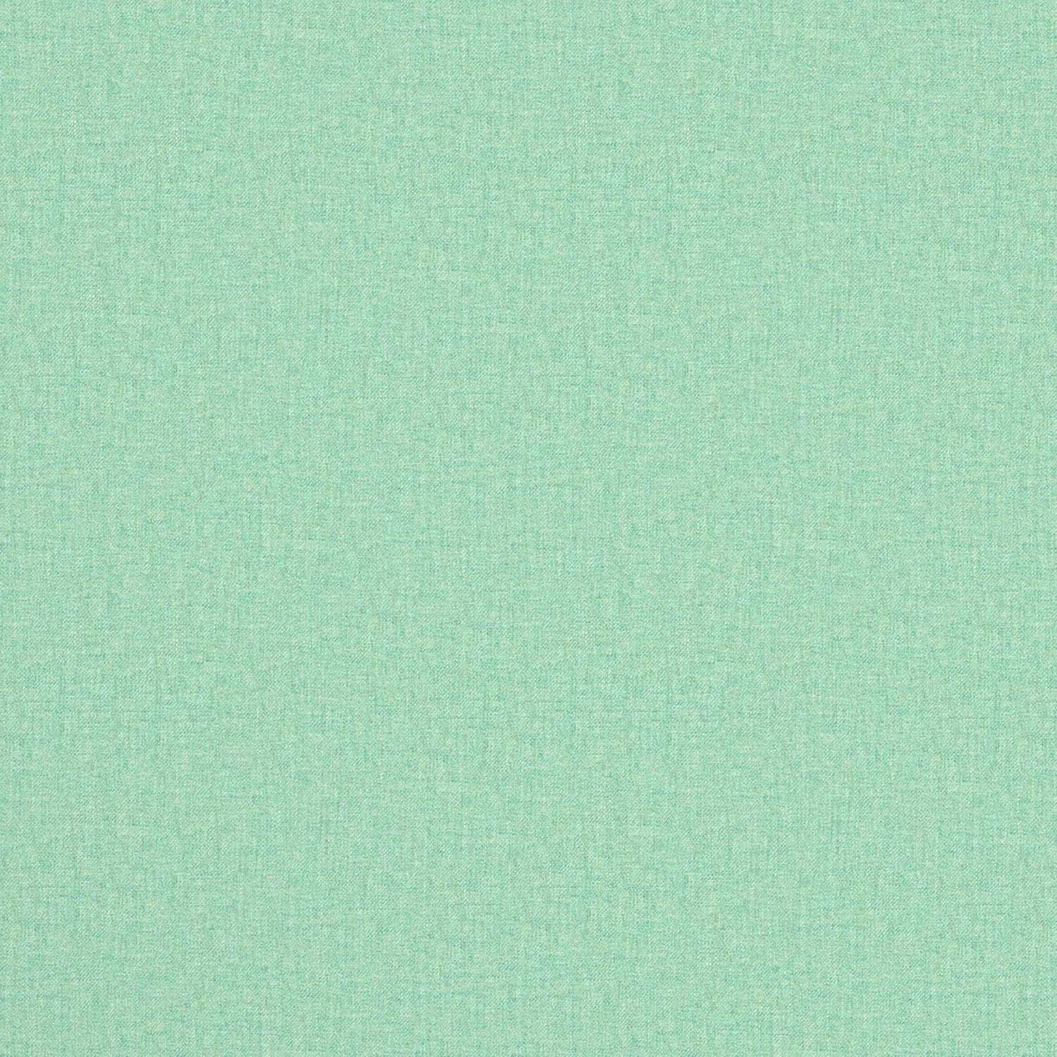 Fabric swatch of a luxury Scottish plain aqua coloured wool fabric suitable for curtains and upholstery