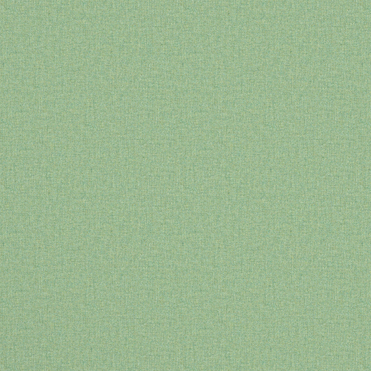 Fabric swatch of a luxury Scottish plain mint green wool fabric suitable for curtains and upholstery