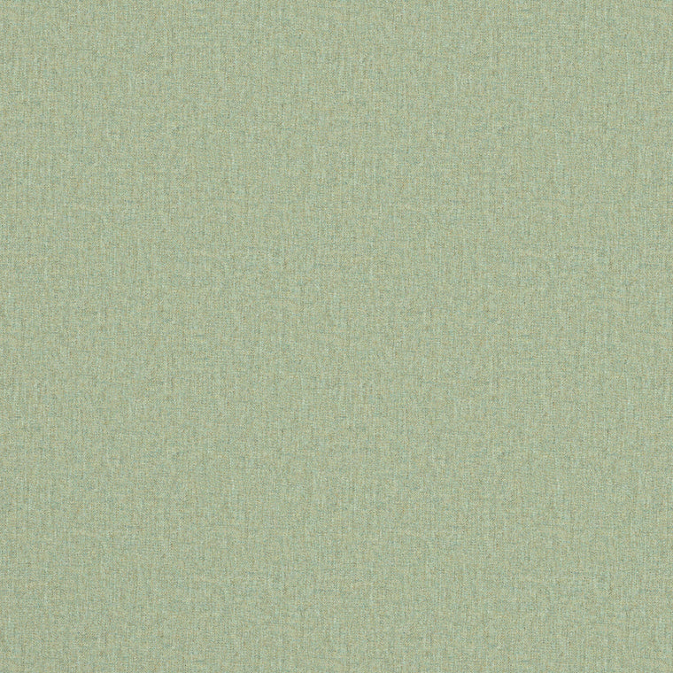 Fabric swatch of a luxury Scottish plain light green wool fabric suitable for curtains and upholstery
