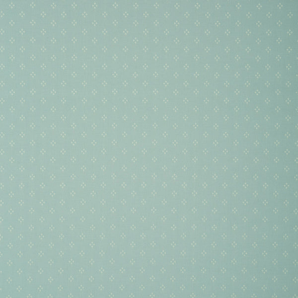 Fabric swatch of a blue fabric with small design for curtains and upholstery with a stain resistant finish