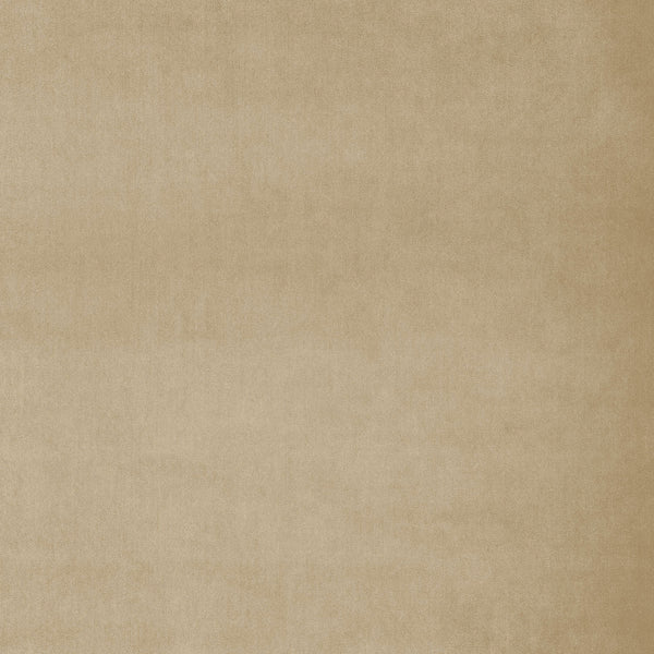 Fabric swatch of a plain sand coloured neutral luxury velvet fabric for curtains and upholstery