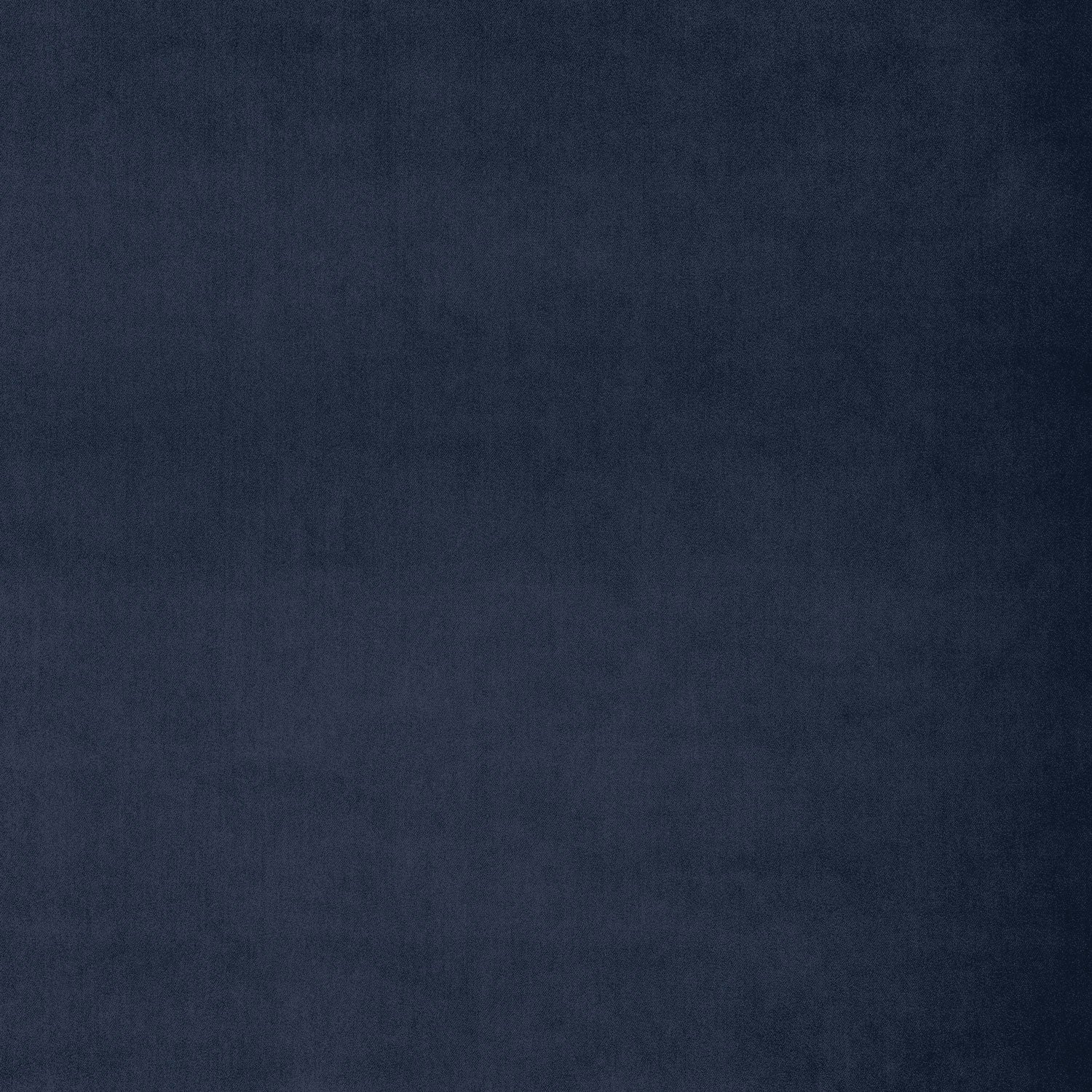 Fabric swatch of a luxury dark blue velvet fabric for curtains and upholstery with a stain resistant finish