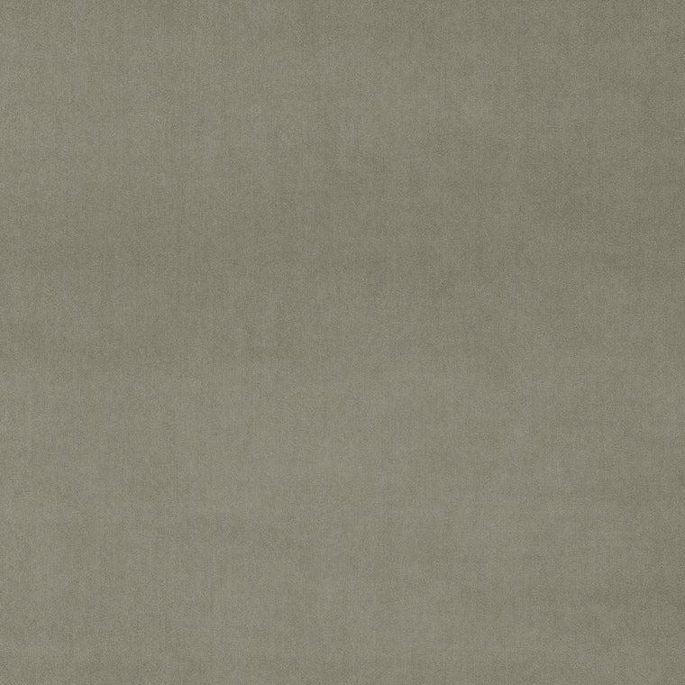 Fabric swatch of a luxury plain grey velvet fabric for curtains and upholstery