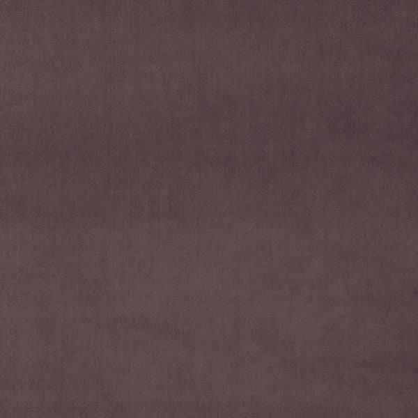 Luxury plain mauve velvet fabric for curtains and upholstery with a stain resistant finish