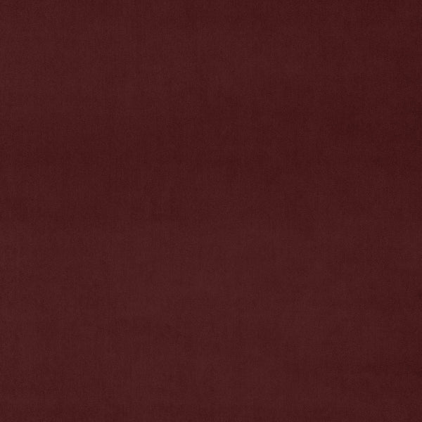 Luxury plain deep copper velvet fabric for curtains and upholstery with a stain resistant finish
