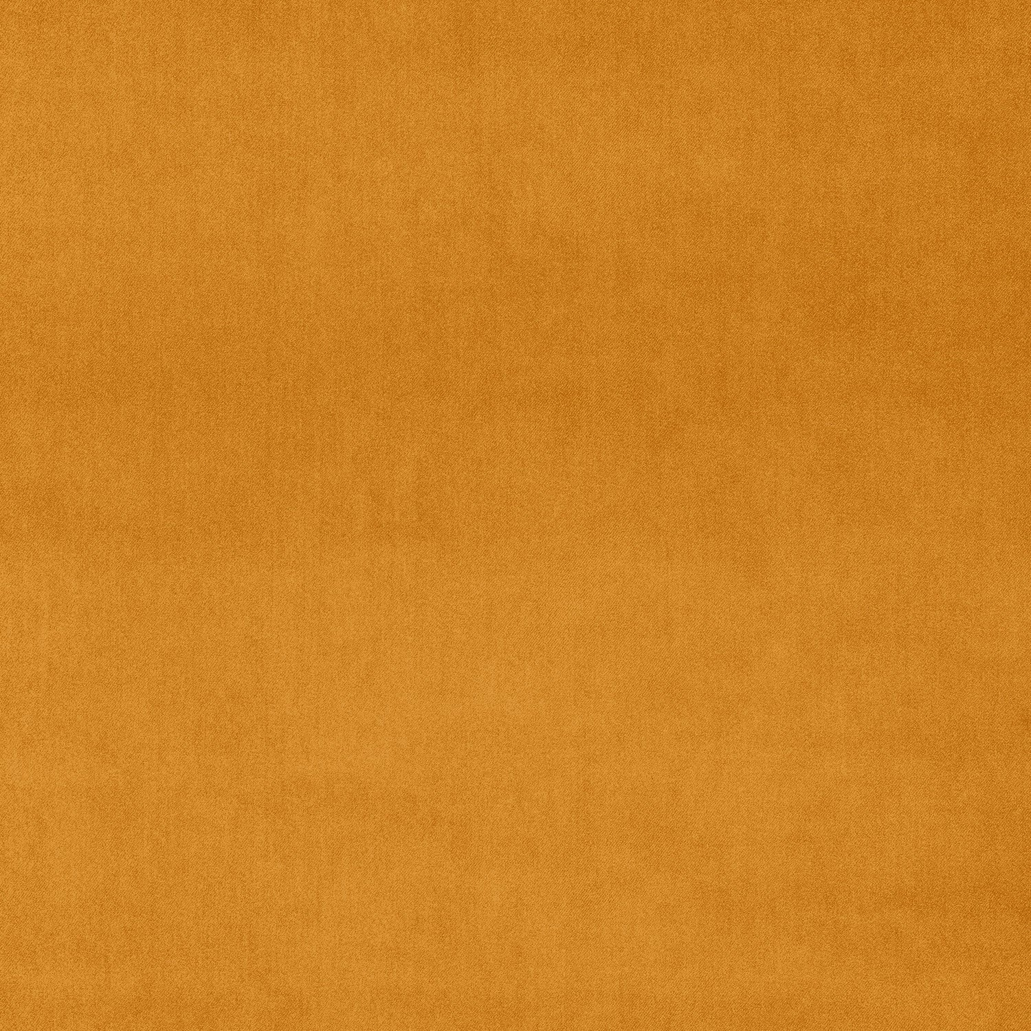 Plain orange velvet fabric for upholstery and curtains with a stain resistant finish