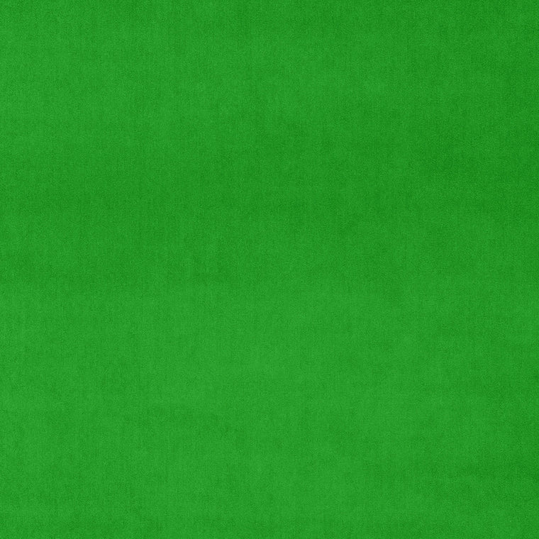 Neon green velvet fabric for curtains and upholstery with a stain resistant finish