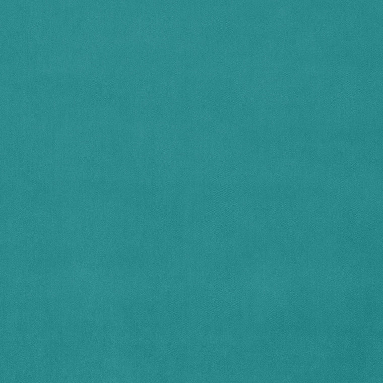 Turquoise velvet fabric with a stain resistant finish for curtains and upholstery