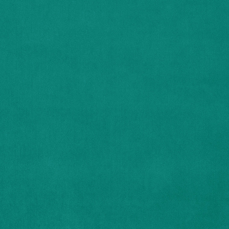 Turquoise velvet fabric for upholstery and curtains with a stain resistant finish