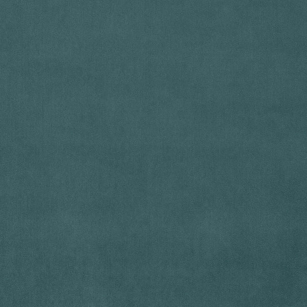 Blue velvet fabric for contract and domestic curtains or upholstery with a stain resistant finish