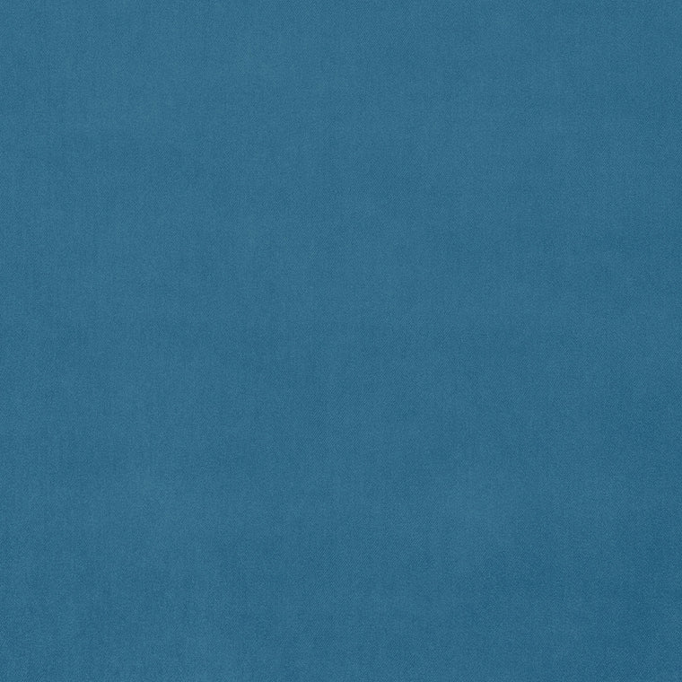 Sky blue velvet fabric for curtains and upholstery with a stain resistant finish