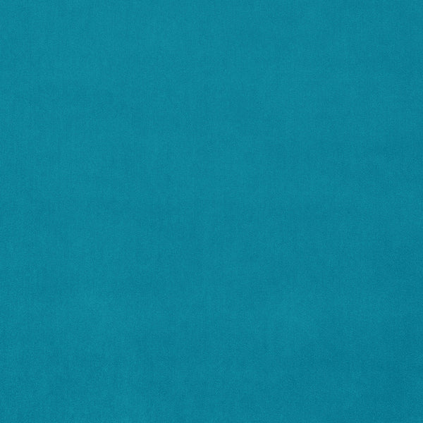 Tropical blue velvet fabric for curtains and upholstery with a stain resistant finish