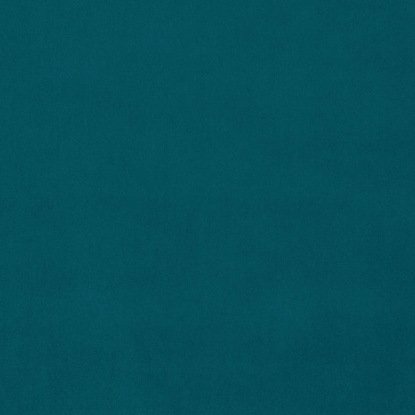 Aqua blue velvet fabric for curtains and upholstery with a stain resistant finish