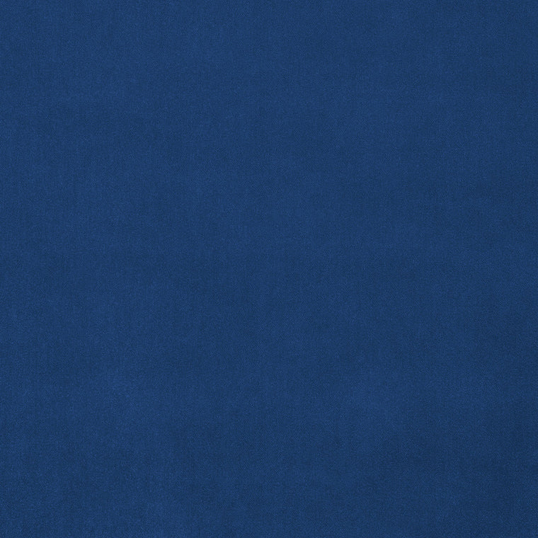 Dark blue velvet fabric with a stain resistant finish for curtains and upholstery
