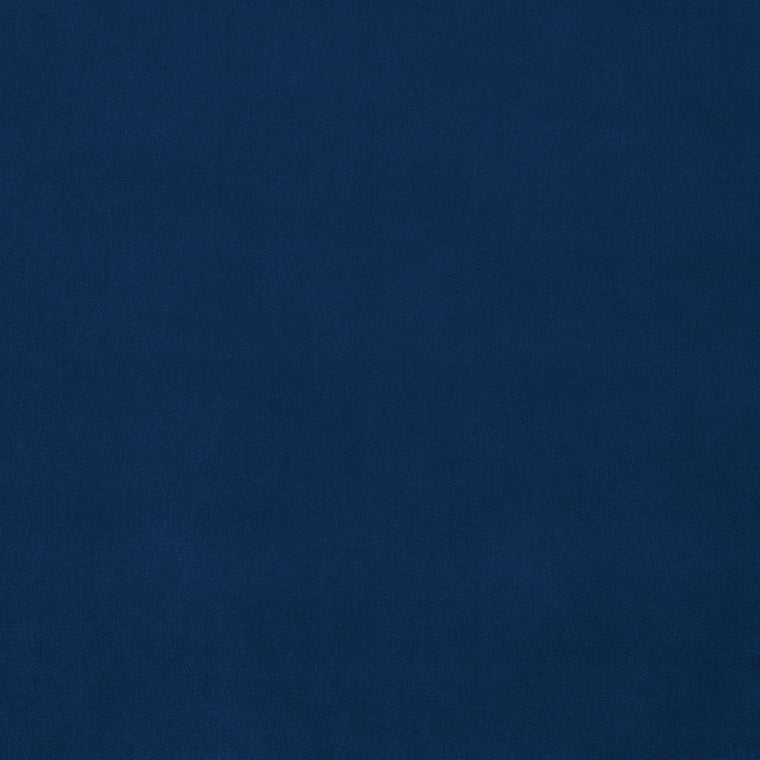 Dark blue velvet upholstery fabric for contract and domestic use with a stain resistant finish