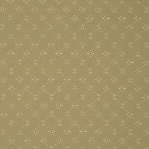 Fabric swatch of a timeless neutral coloured fabric with small design for curtains and upholstery