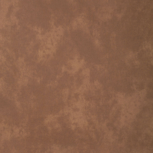 Fabric swatch of a chestnut brown recycled leather upholstery fabric