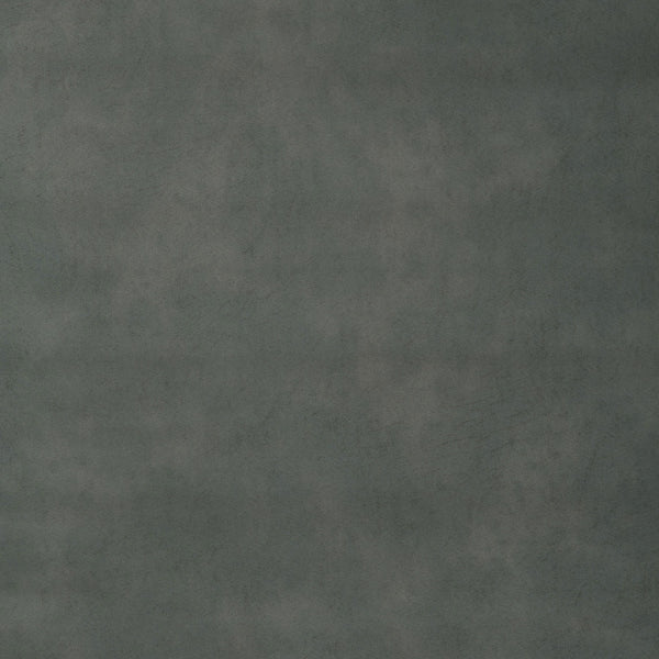 Fabric swatch of a dark grey recycled leather upholstery fabric