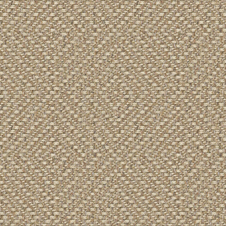 Neutral fabric suitable for curtains and upholstery with a light neutral woven geometric design
