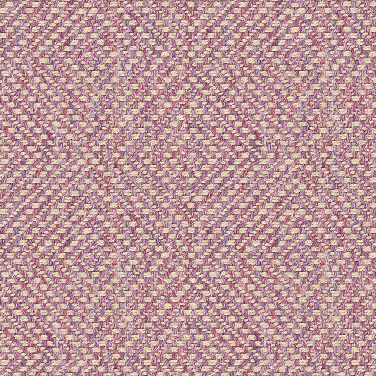 Purple fabric for curtains and upholstery with a light woven geometric design
