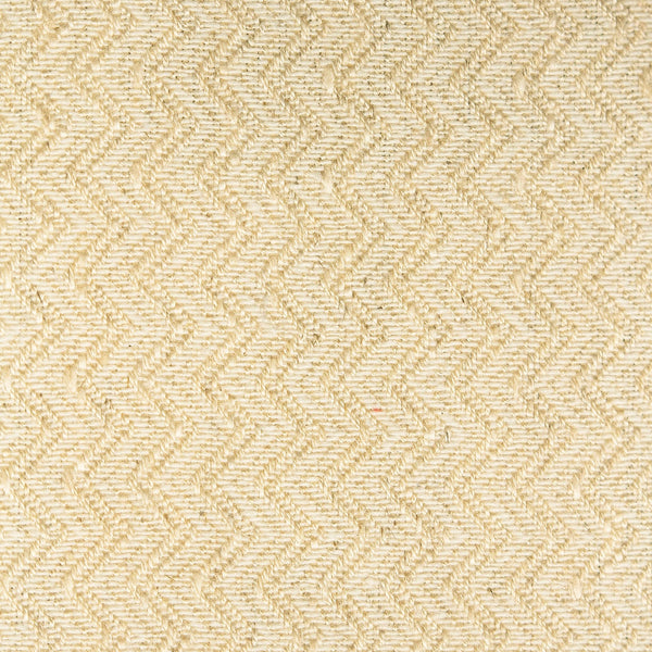 Light neutral chevron weave fabric with a stain resistant finish for curtains and upholstery
