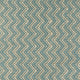 Blue fabric with chevron design for contract and domestic curtains or upholstery