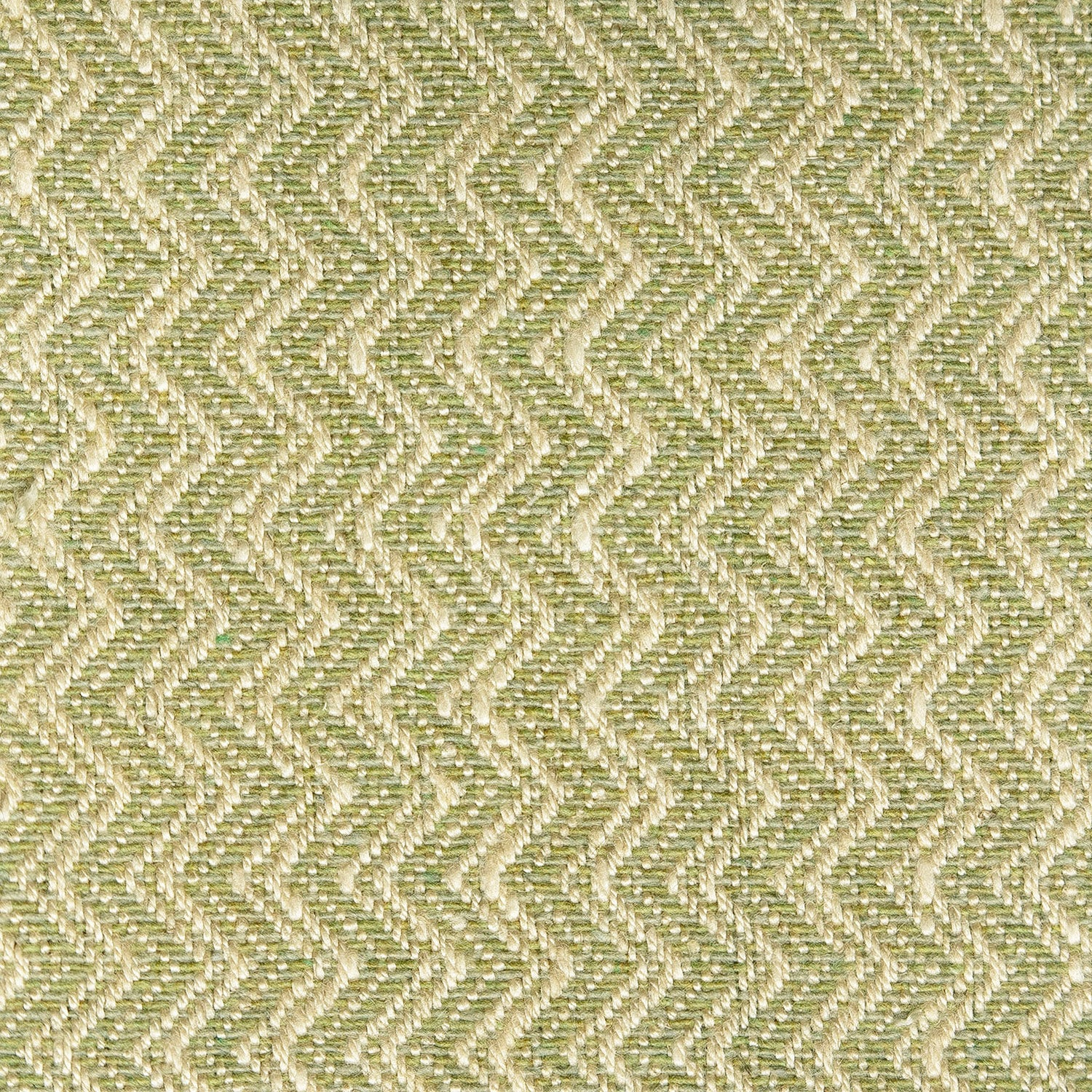 Green upholstery fabric with zig zag design for contract and domestic curtains or upholstery