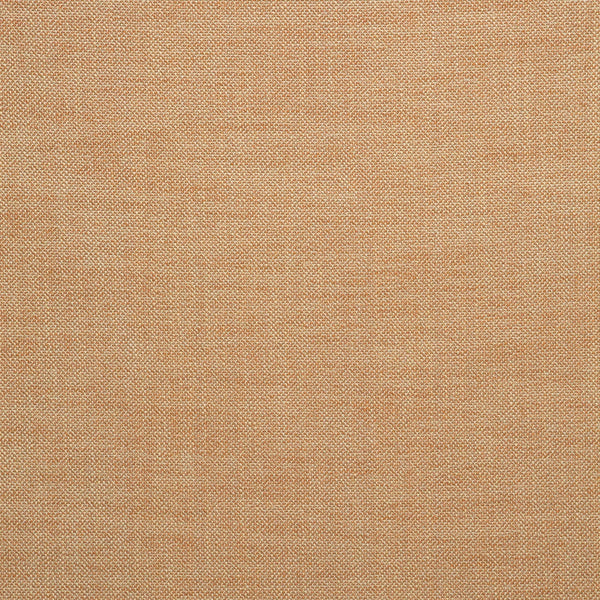 Fabric swatch of a plain burnt orange weave fabric for upholstery