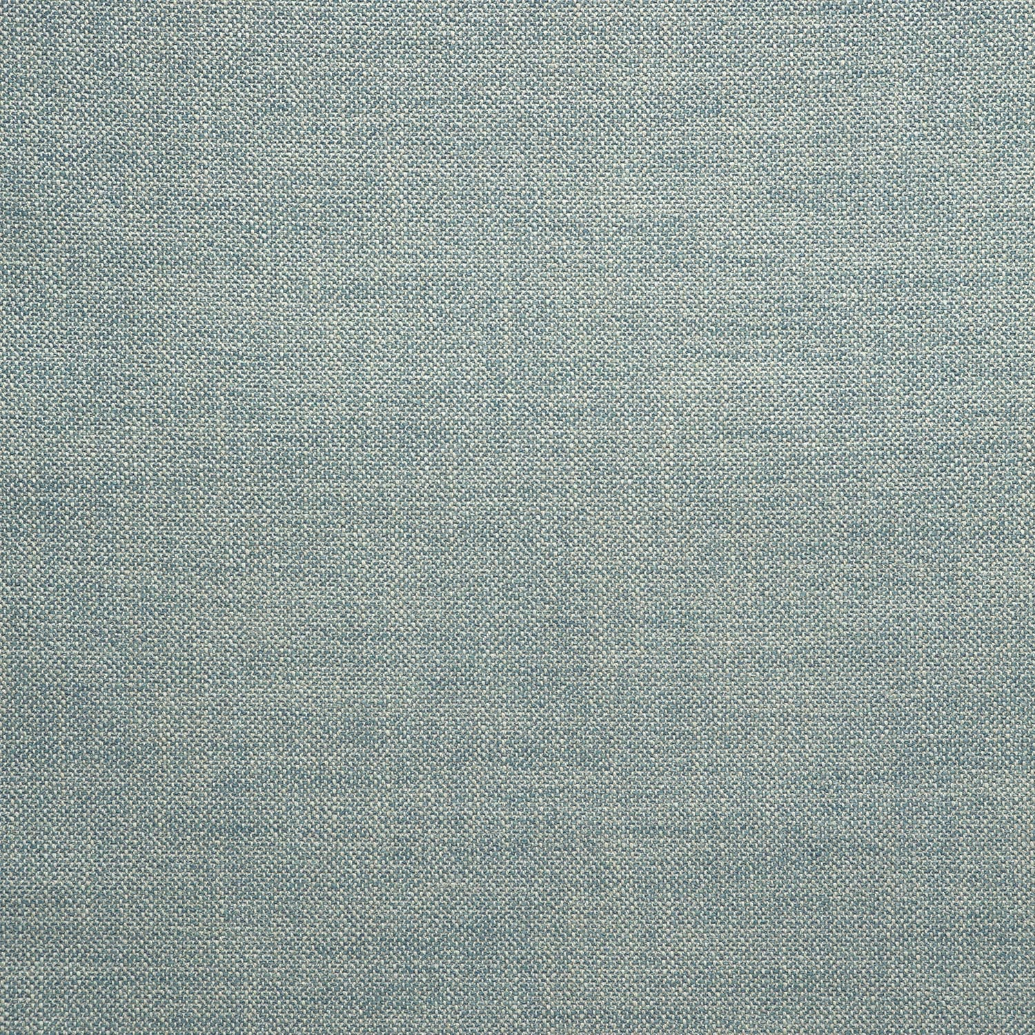 Fabric swatch of a plain blue weave fabric for upholstery
