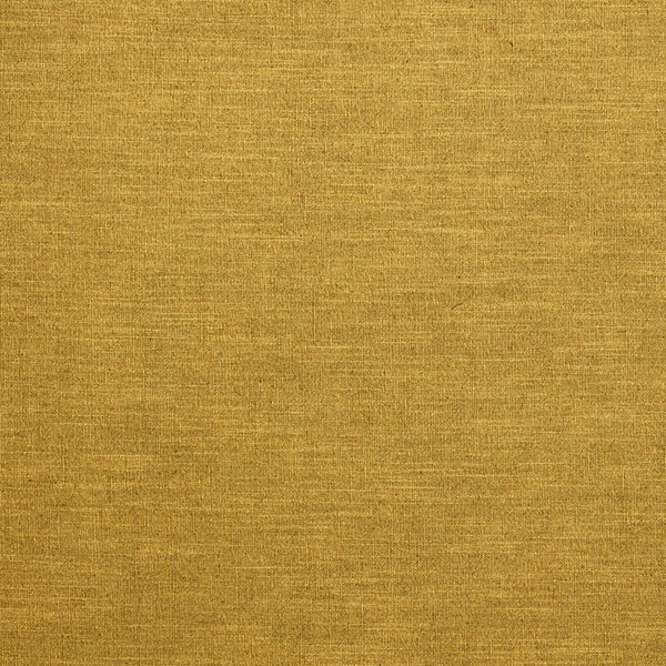Ochre yellow linen blend fabric suitable for curtains and upholstery
