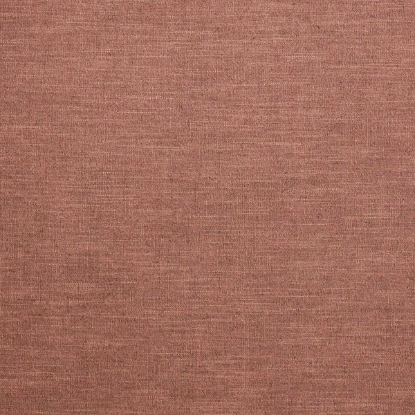 Terracotta linen mix fabric suitable for curtains and upholstery