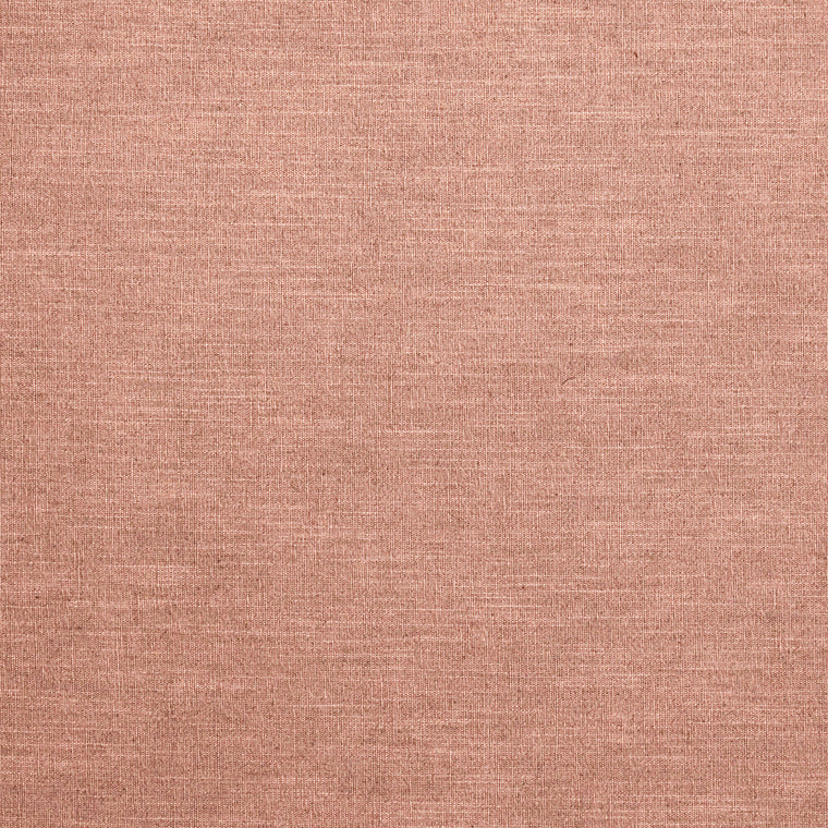 Blush pink linen blend fabric suitable for curtains and upholstery