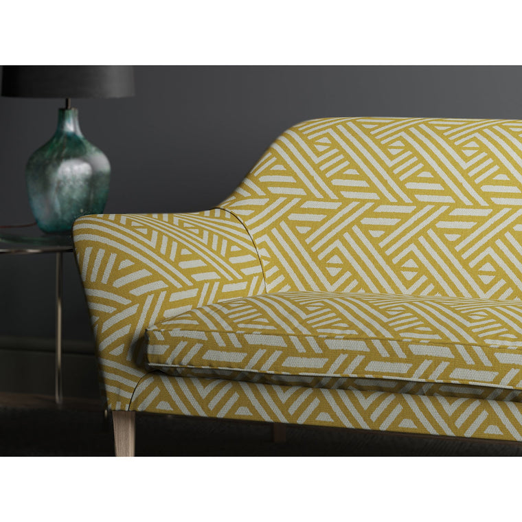 Sofa in design name Pampas, colourway Saffron from the Tango collection
