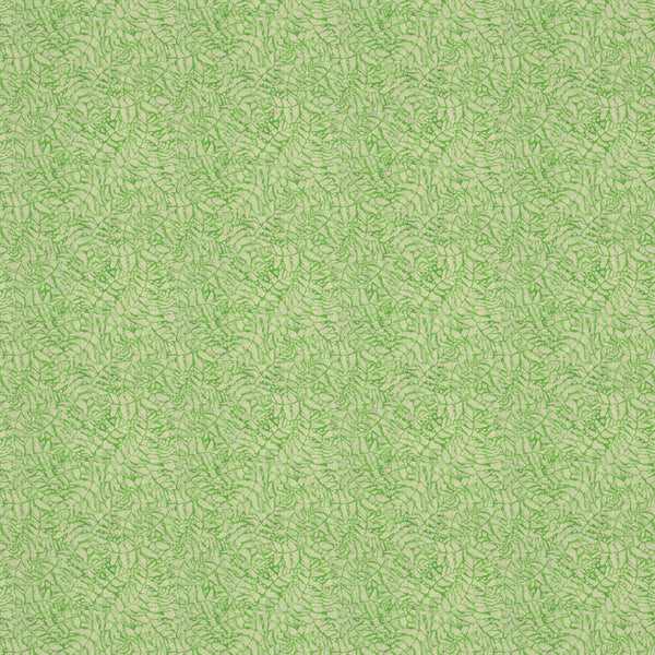 Green fabric with a small white print for curtains and upholstery
